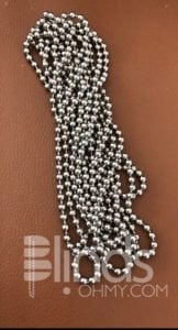 Stainless Steel beaded ball chain for the roller blind shade clutch component
